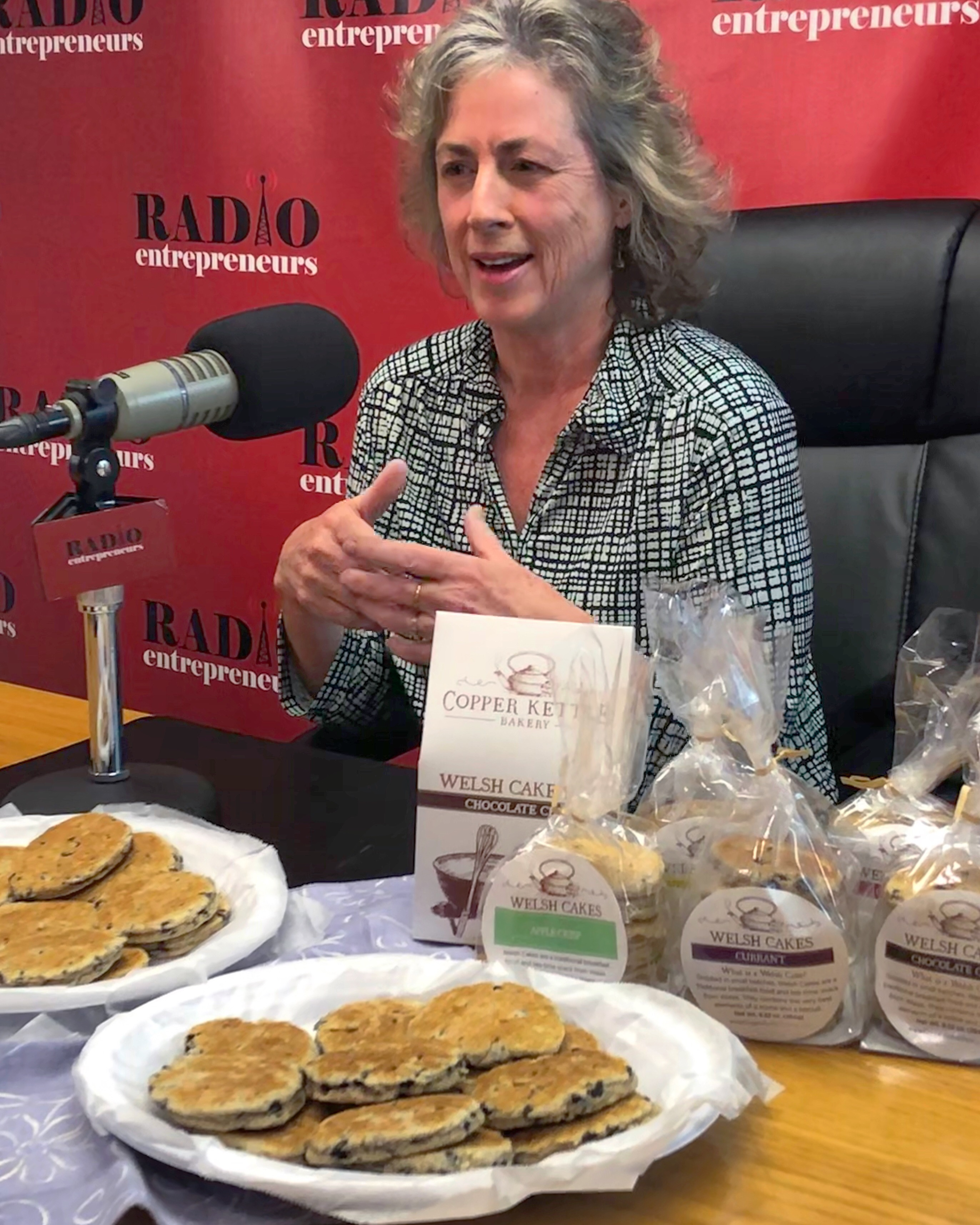 """""""Authentic & Delicious Welsh Cakes"""" with Helen Coates of Copper Kettle Bakery"""