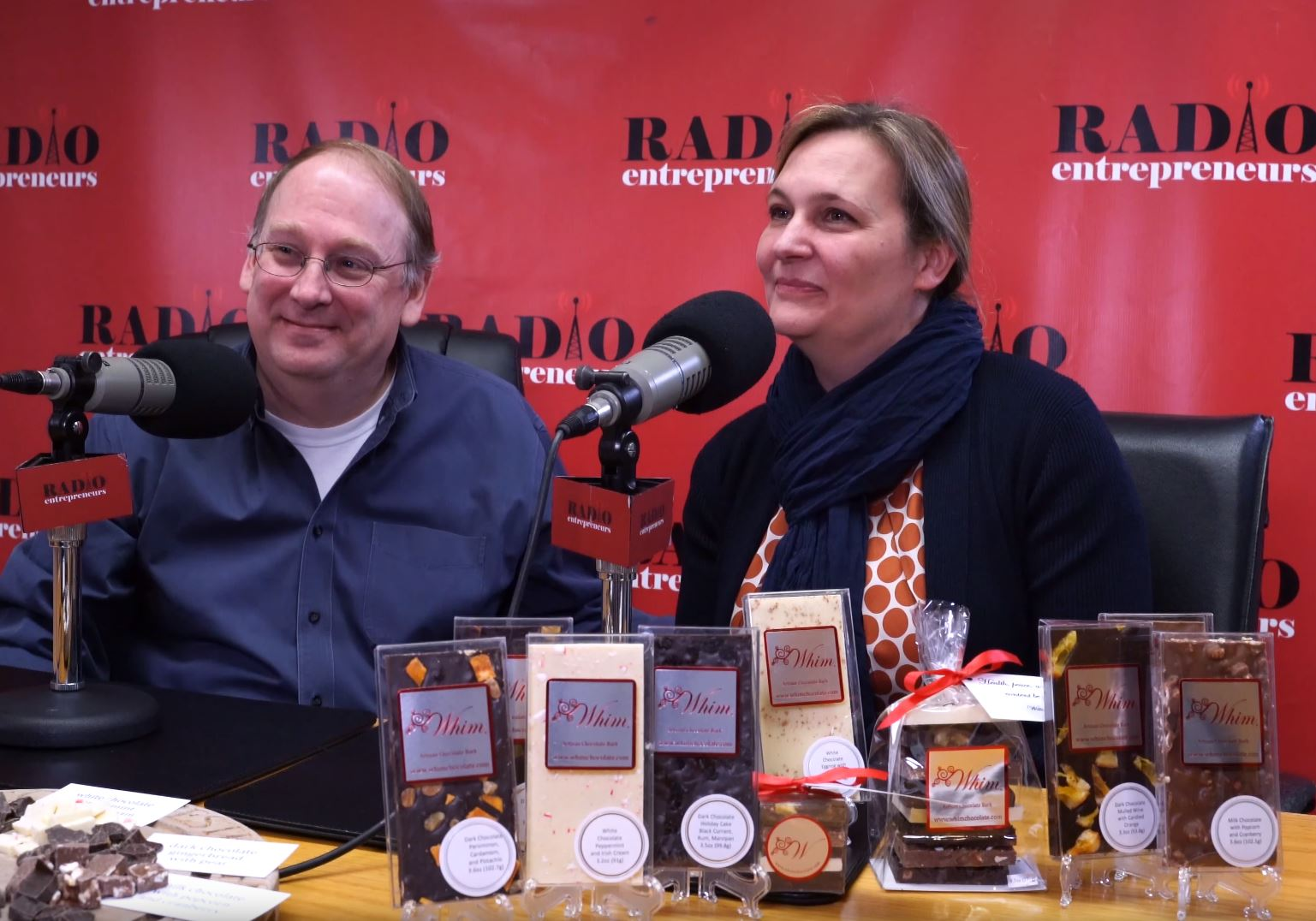 """""""Creative and Unique Chocolate Creations"""" with Marshall Parker and Inge Kiss of Whim Chocolate"""
