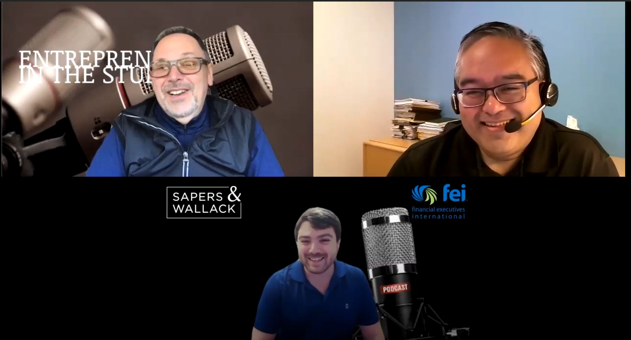 """""""Financial Planning Advice In The Time Of COVID-19"""" with Jeff Tomaneng of Sapers & Wallack"""