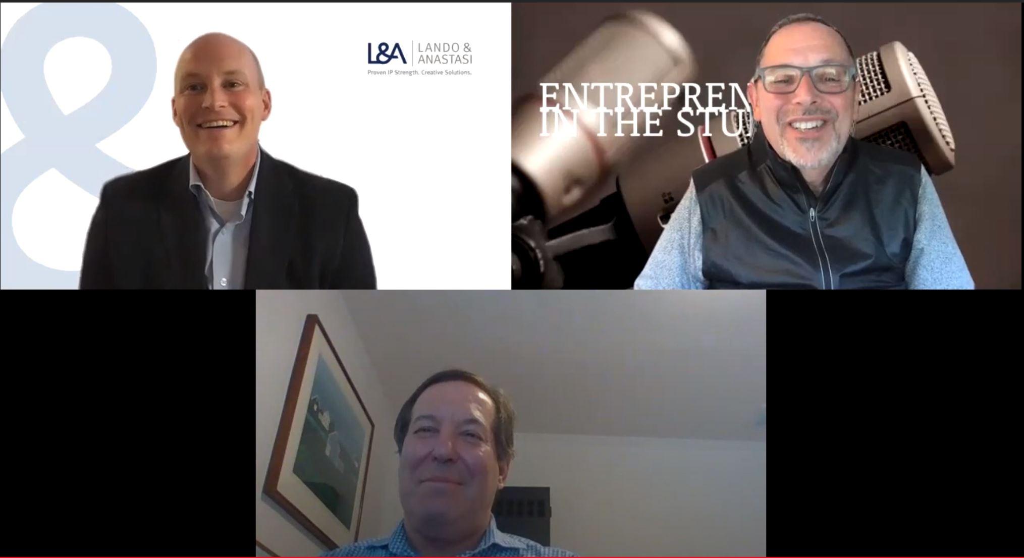 """""""Helping Startups Achieve Innovation & Get Their Tech Patented"""" w/ David Roccio of Lando & Anastasi"""