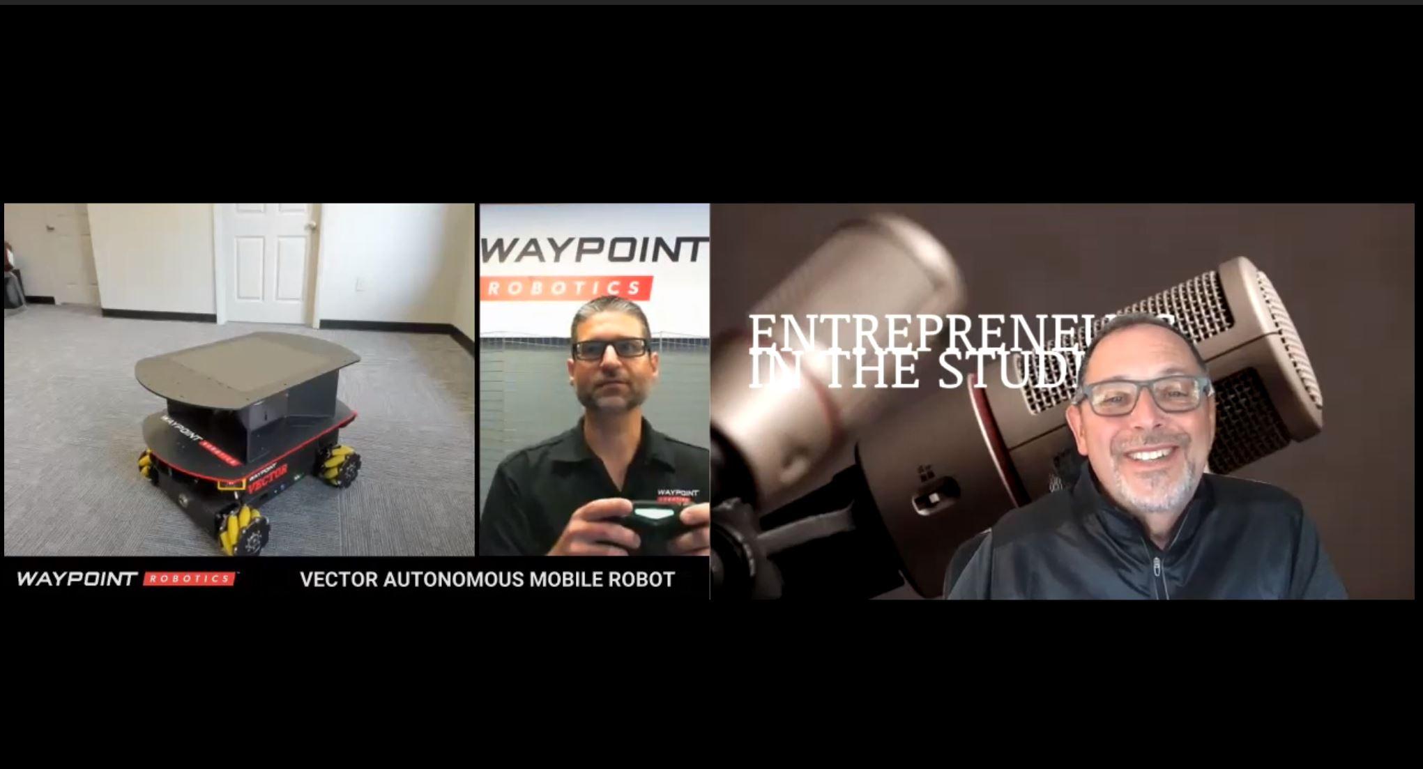 """Omni-Directional Robots That Revolutionize Manufacturing"" with Jason Walker of Waypoint Robotics"