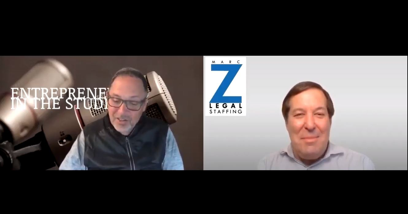 """""""Thinking Strategically About Your Hiring & Staffing"""" w/ Marc Zwetchkenbaum of Marc Z Legal Staffing"""