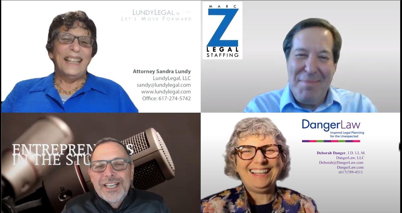 """""""Parallels Between Divorce & Estate Planning"""" w Sandy Lundy of LundyLegal & Deb Danger of Danger Law"""