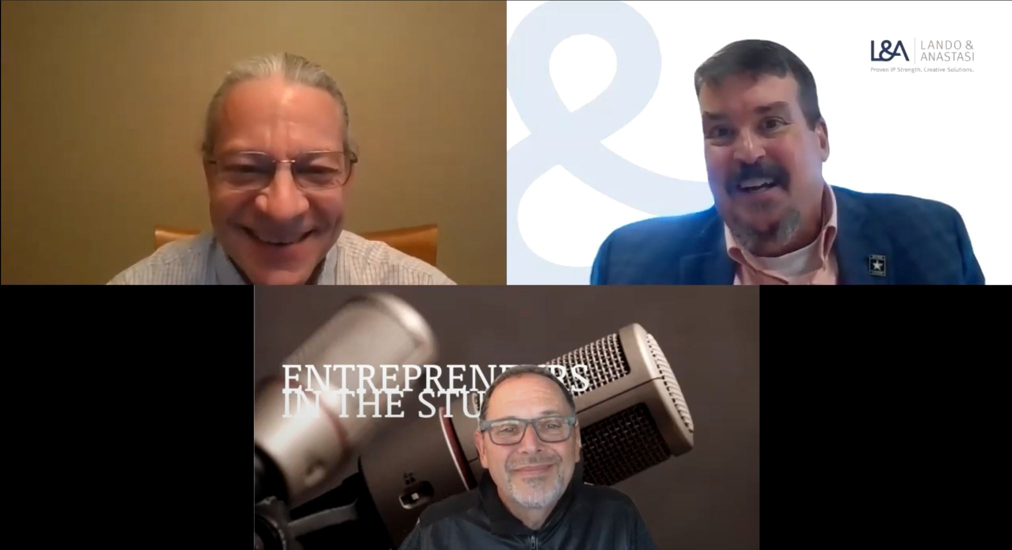 """""""How Lando & Anastasi Works Directly With Inventors"""" w/ Keith Noe of L&A Law, & Tom Prentice of ITW Electronic Assembly Equipment"""