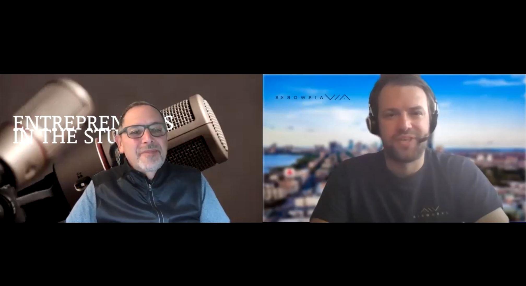 """Providing Aerial Data Autonomously For Engineers & Surveyors"" with David Morczinek of Airworks"