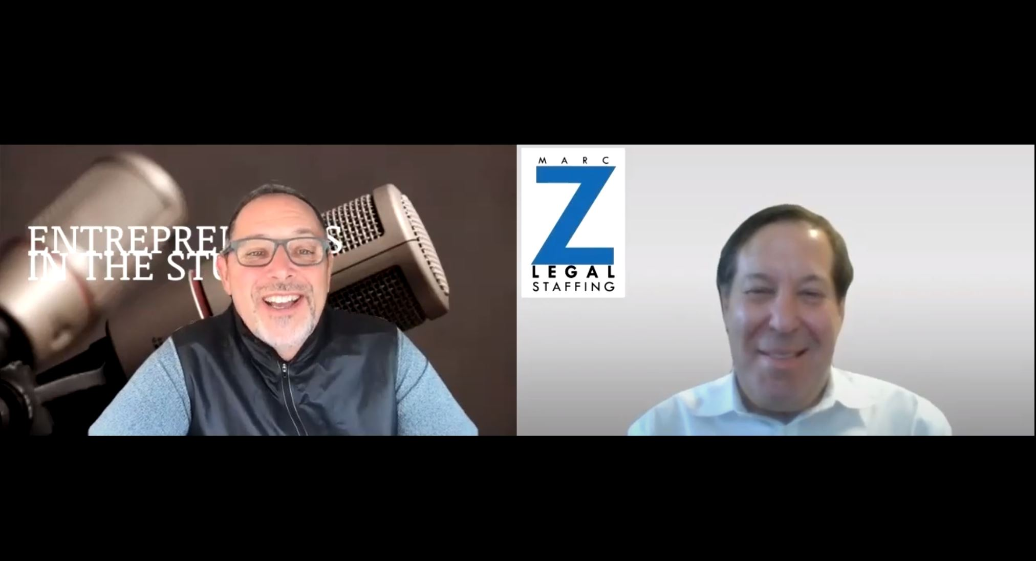 """""""Changes In Legal Industry Staffing & Talent Investments"""" with Marc Z of Marc Z Legal Staffing"""