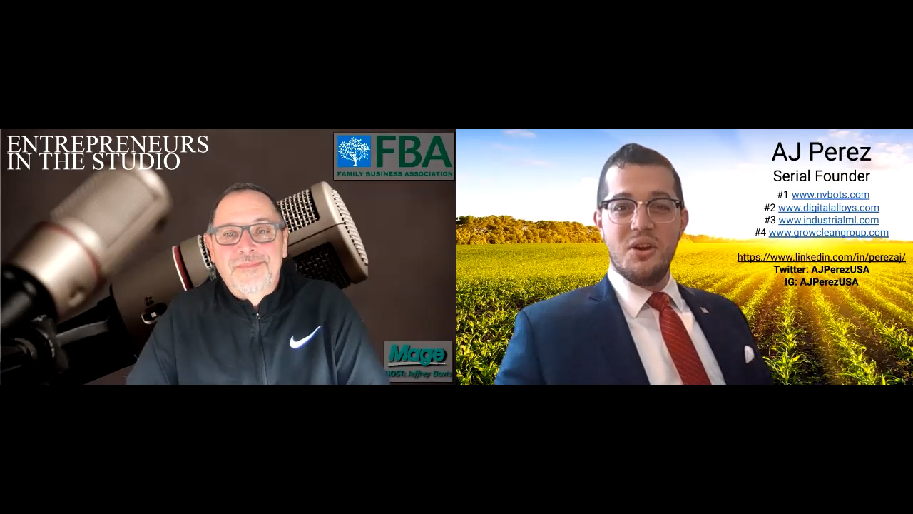 """""""Designing A Better Future Through Industry, Agriculture, & More"""" with AJ Perez of Industrial ML"""