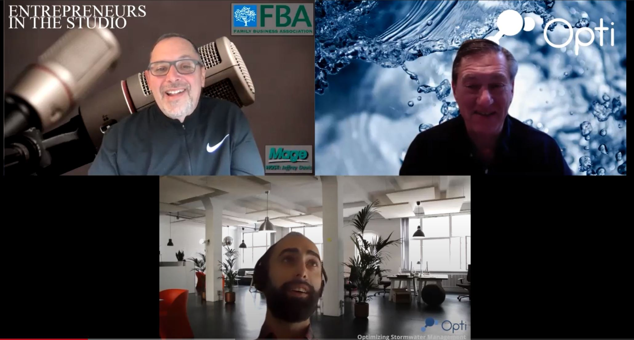"""Amazing Advances In Stormwater Management Technology"" w/ David Rubinstein & Alex Bedig of Opti RTC"