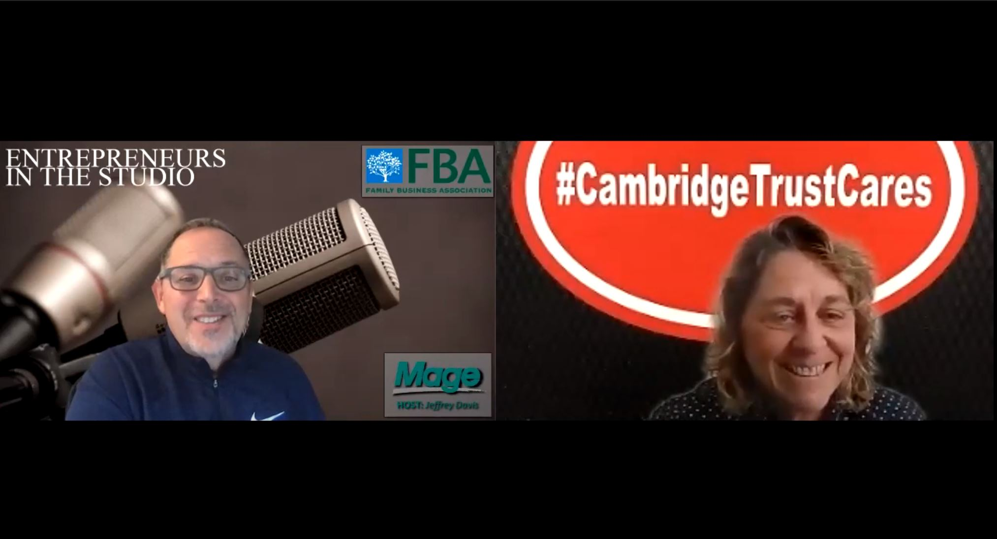 """""""Thanksgiving Efforts That Show Cambridge Trust Cares"""" with Dina Scianna of Cambridge Trust Bank"""