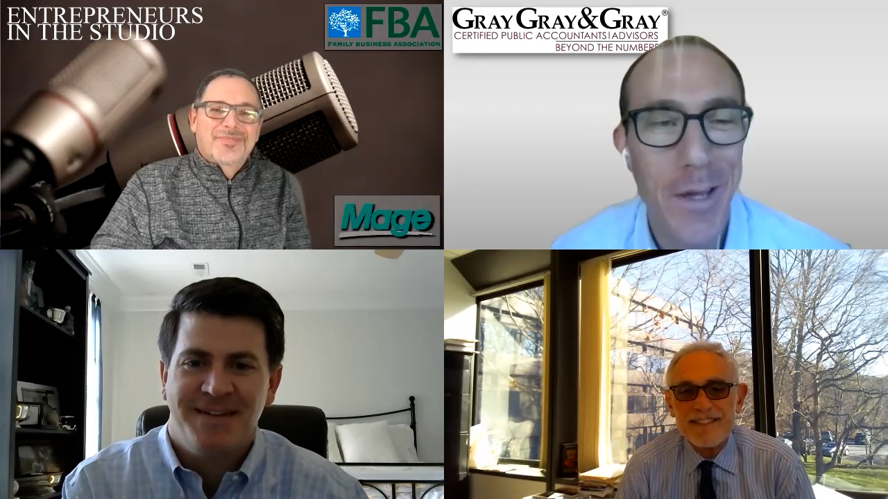 """FBA Family Business Panel Discussion – December 2020 Edition – Part One: """"Adapting To Change & Difficult Times"""""""