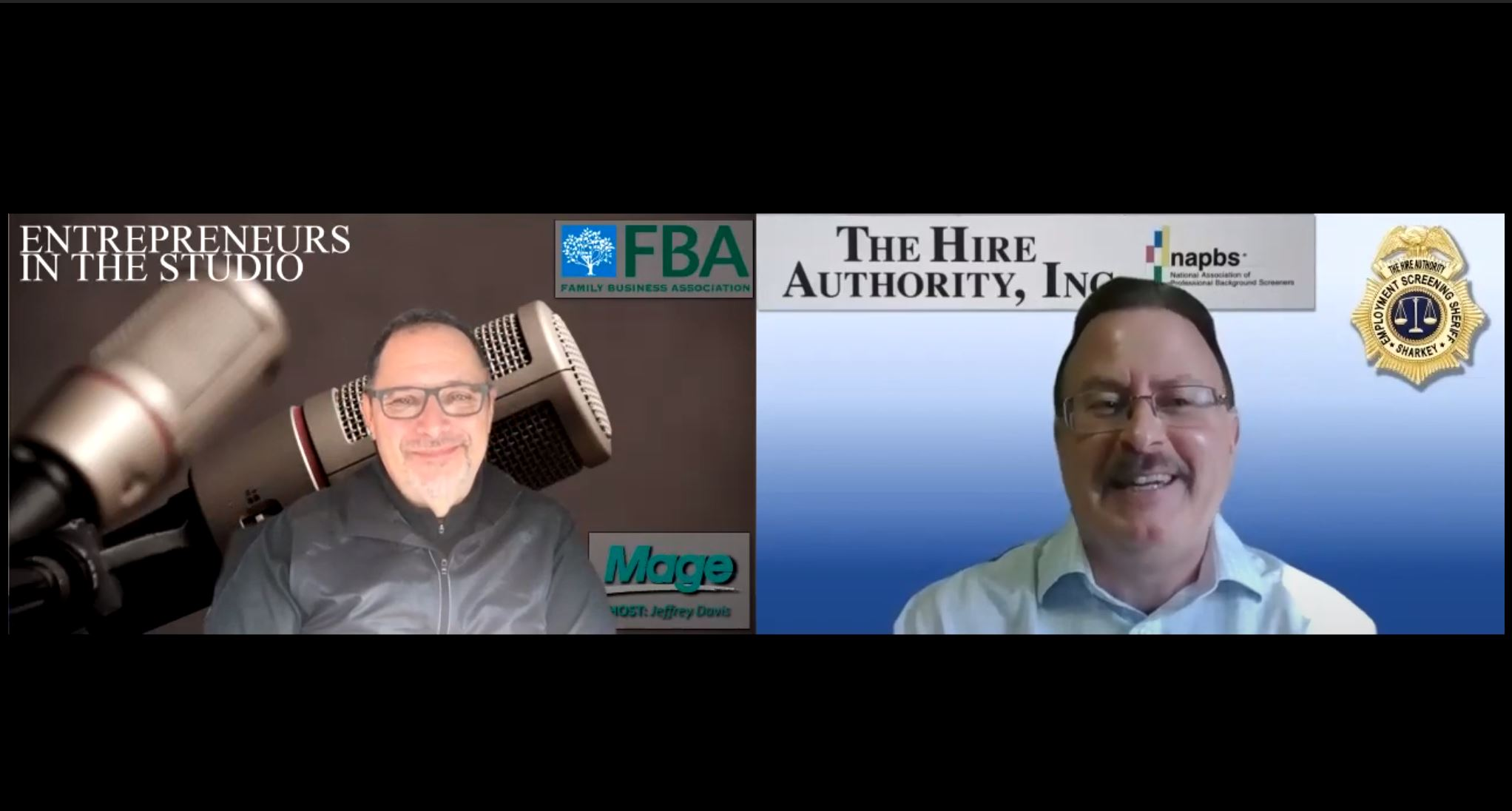 """""""What Does A Background Check Consist Of?"""" with Phil Sharkey of The Hire Authority"""