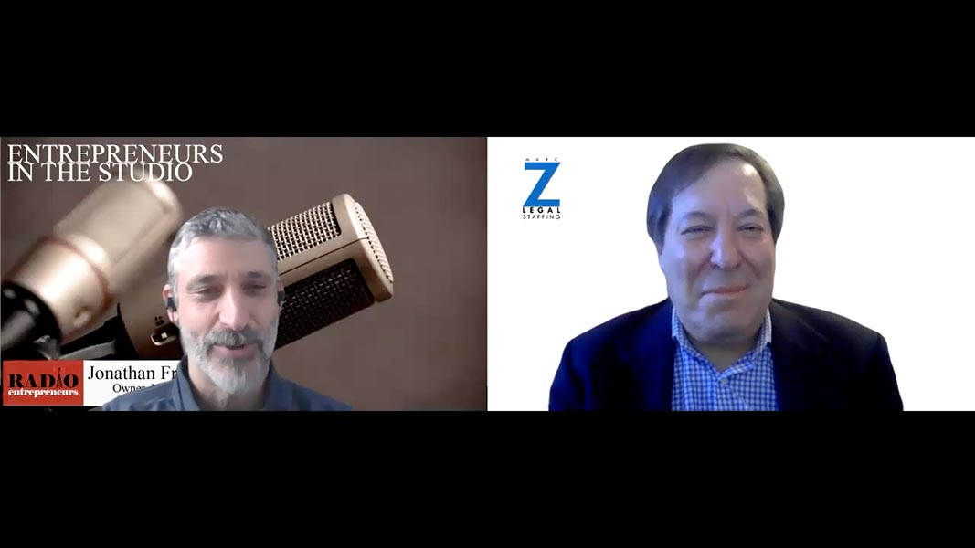 """""""Planning Around Vaccinations & Re-Opening Your Office"""" with Marc Z of Marc Z Legal Staffing"""