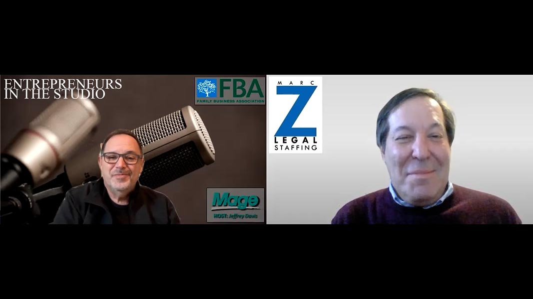 """""""Survive, Then Thrive: Planning For The New Year"""" with Marc Zwetchkenbaum of Marc Z Legal Staffing"""