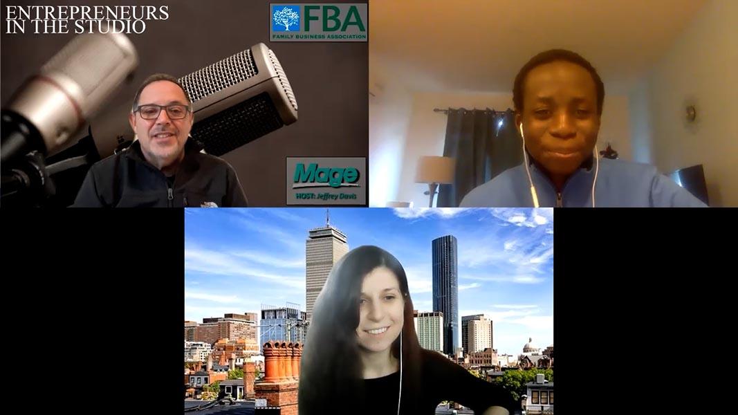 """Helping Entrepreneurs Get Direct Attention Of Media"" with Leia Ruseva & Richard Mensah of EllisX"