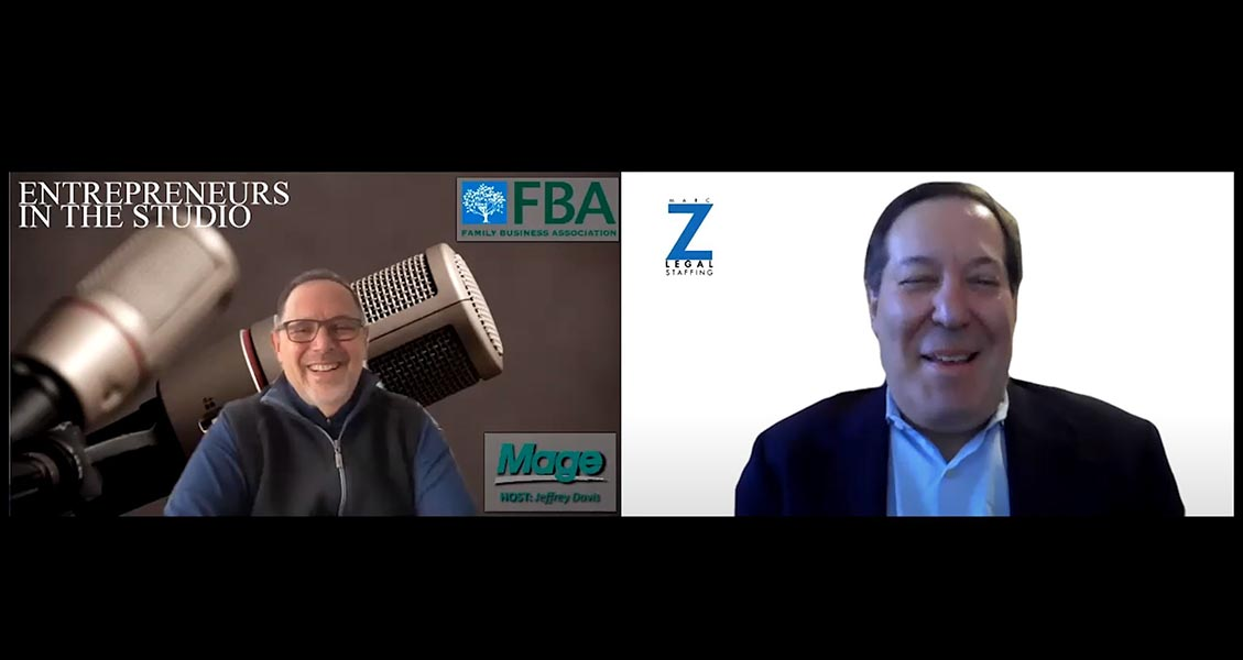 """""""The Importance Of Referencing While Hiring Over Zoom"""" with Marc Z of Marc Z Legal Staffing"""