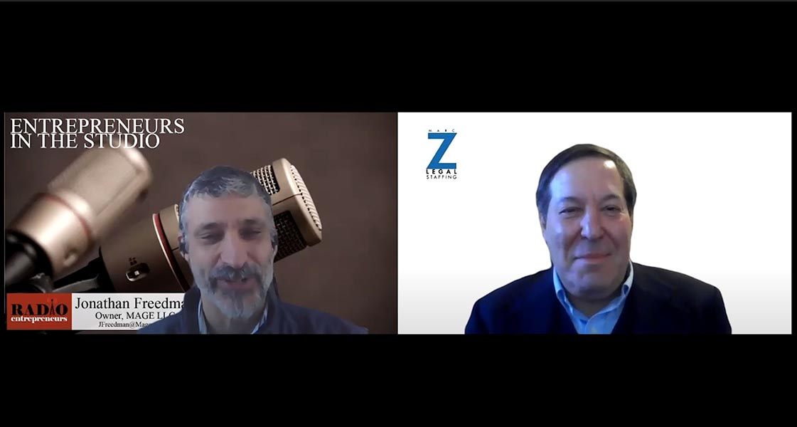"""""""How Firms Can Think Strategically About Their Reopening"""" with Marc Z of Marc Z Legal Staffing"""