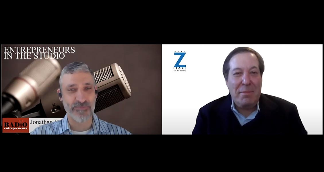 """""""Planning For Your Return To The Office"""" with Marc Zwetchkenbaum of Marc Z Legal Staffing"""