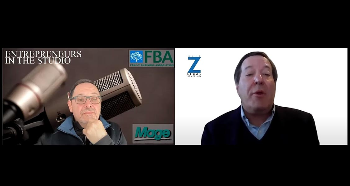 """""""Planning For Reopening: Support Staff & When Should They Return"""" w/ Marc Z of Marc Z Legal Staffing"""