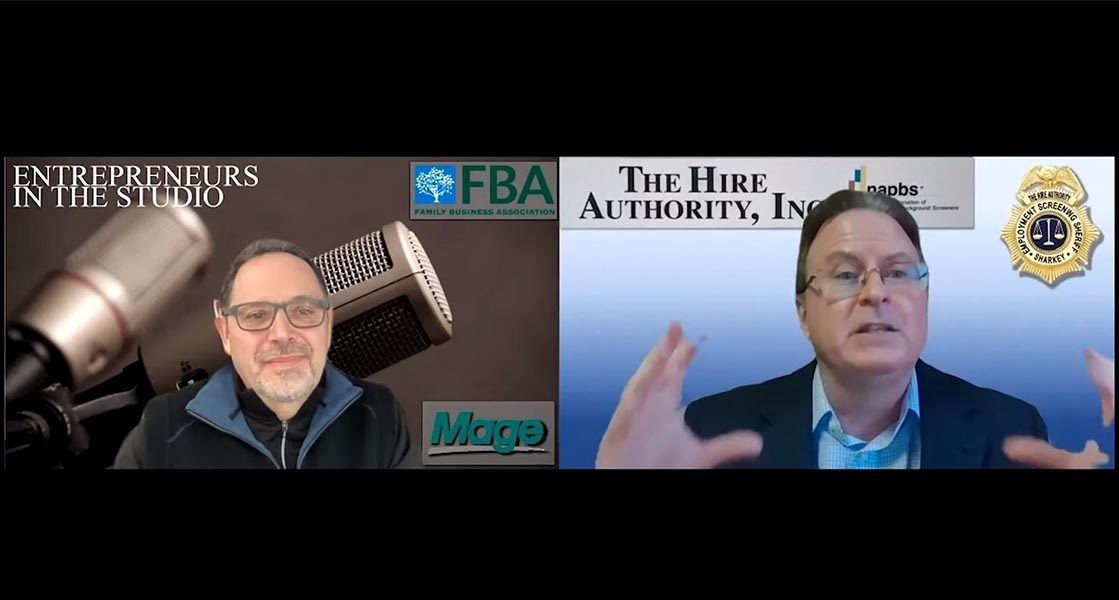"""""""Top Background Check Questions & Top 10 Lying Professions"""" with Phil Sharkey of The Hire Authority"""