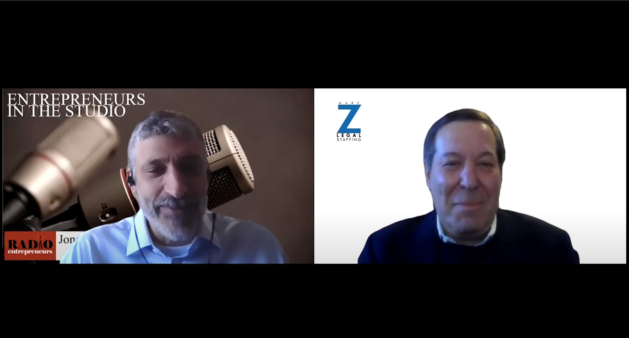 """""""Hiring As We Go Into A Slowly Reopening Business World"""" with Marc Z of Marc Z Legal Staffing"""