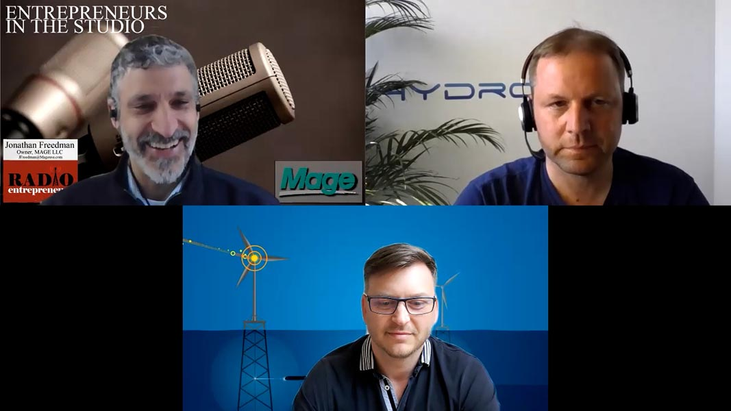 """Bringing The Drone Revolution To Underwater Environments"" with Igor Martin & Alex Bahr of Hydromea"