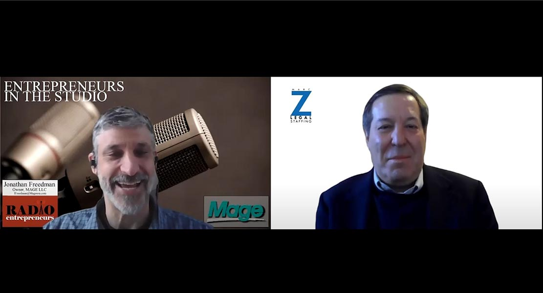 """""""Use Of Virtual Platforms After The Office Reopens"""" with Marc Zwetchkenbaum of Marc Z Legal Staffing"""