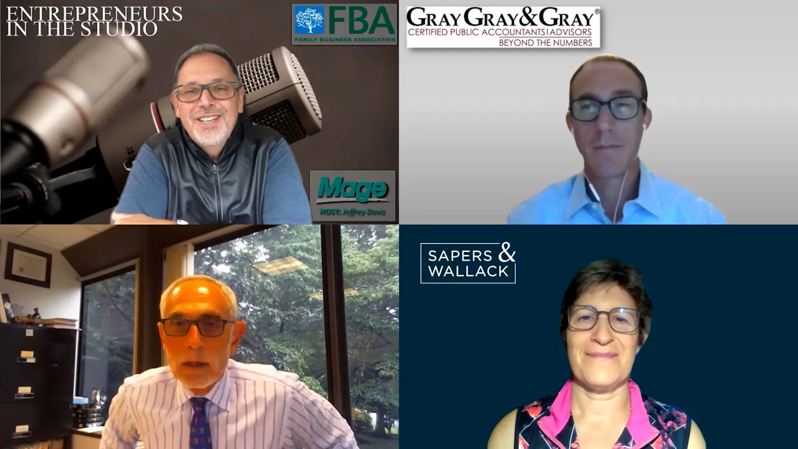 """FBA August Family Business Panel: """"When The Transition's Done – It's Still Not Done"""" [PART TWO]"""