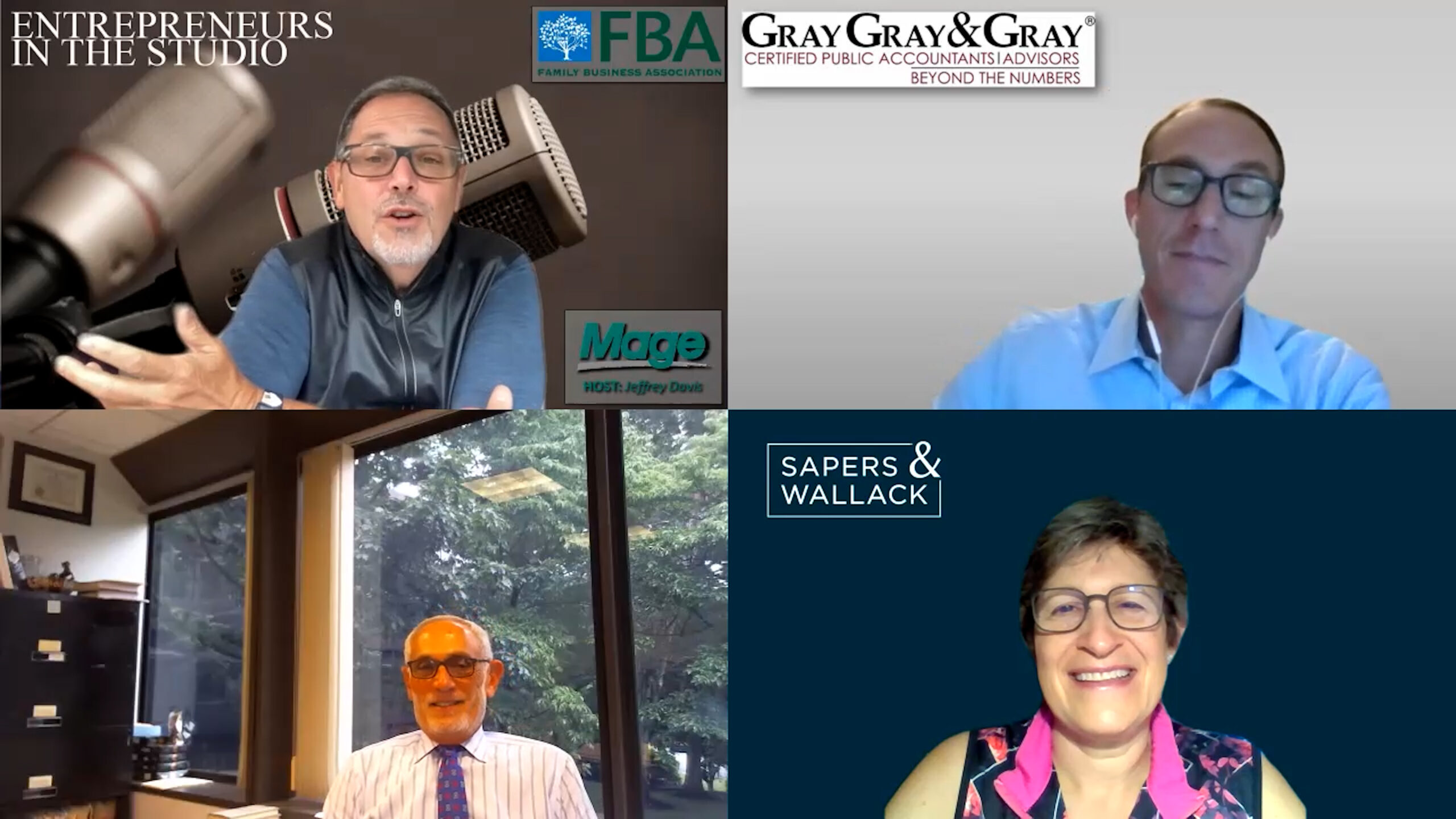 """FBA August Family Business Panel: """"When The Transition's Done – It's Still Not Done"""" [PART THREE]"""