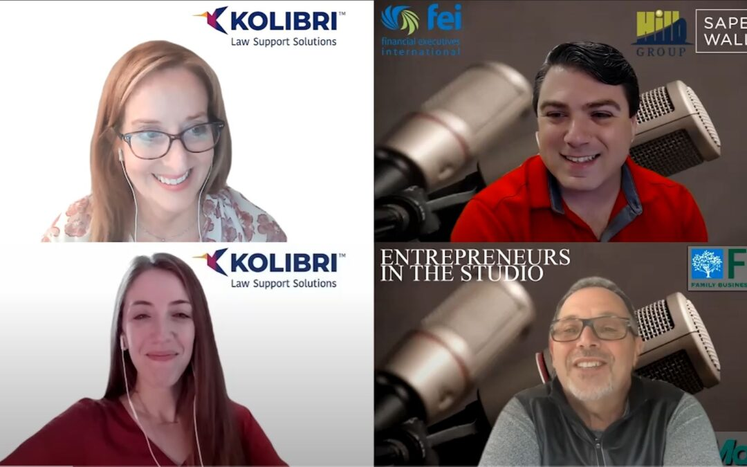 """""""Outsourced Back-Office Support Focused On Law Firms"""" with Casey Blake & Margaret Burke of Kolibri"""