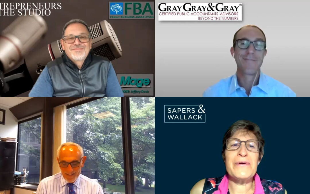 """FBA August Family Business Panel: """"When The Transition's Done – It's Still Not Done"""" [PART ONE]"""