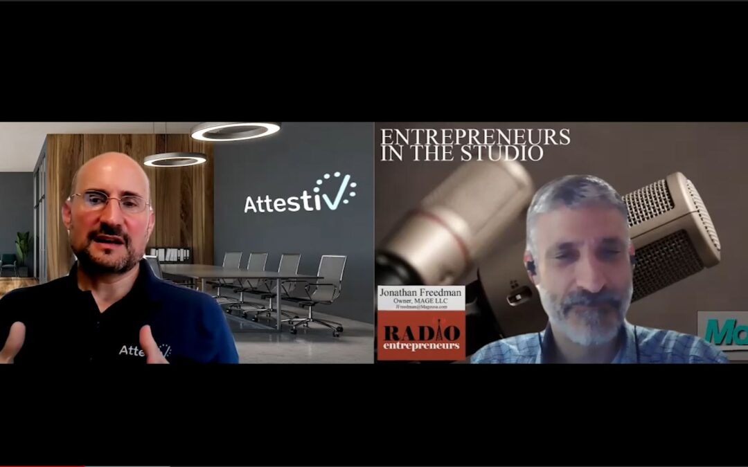 """""""Discussing Deep-Fakes, Ransomware, & Data Validation"""" with Nicos Vekiarides of Attestiv"""