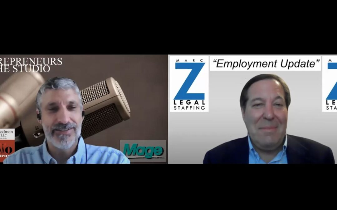 """""""How Delta Variant Has Forced Change On Employers"""" with Marc Zwetchkenbaum of Marc Z Legal Staffing"""
