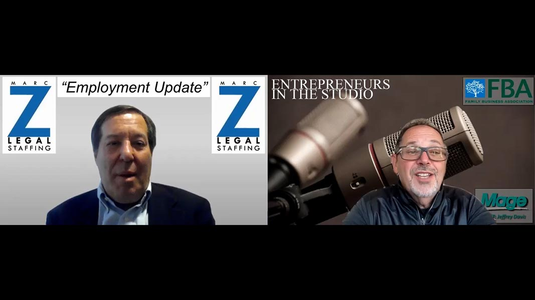 """""""How Employers Should Be Re-Thinking Their New Job Postings"""" with Marc Z of Marc Z Legal Staffing"""
