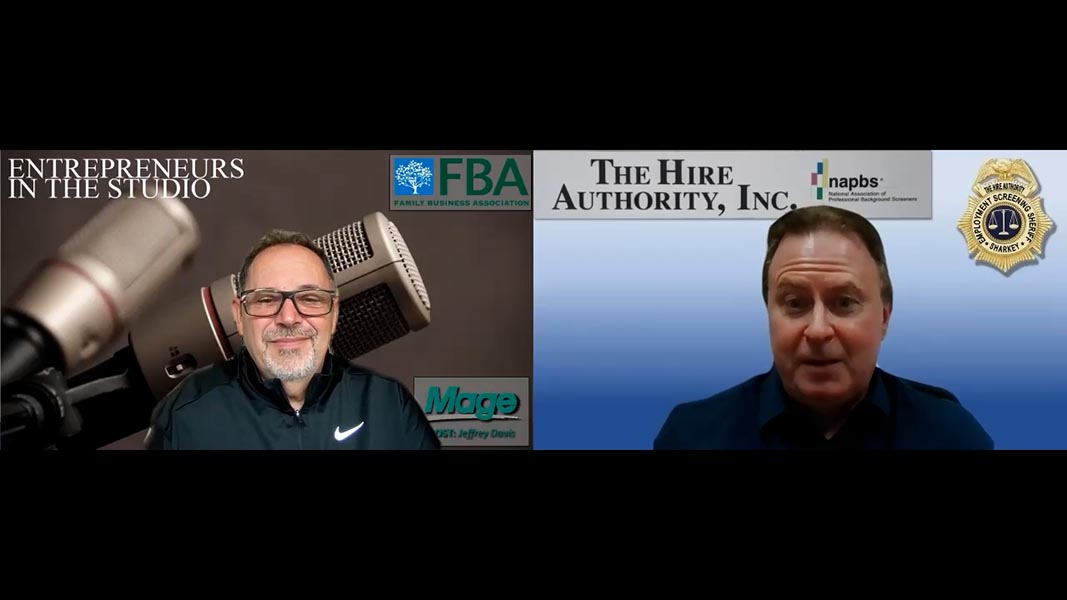 """""""The Importance Of Criminal Checks For Positions Of All Types"""" w/ Phil Sharkey of The Hire Authority"""